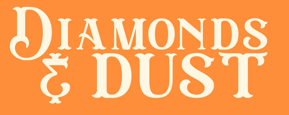 Diamonds and Dust Event Title Header