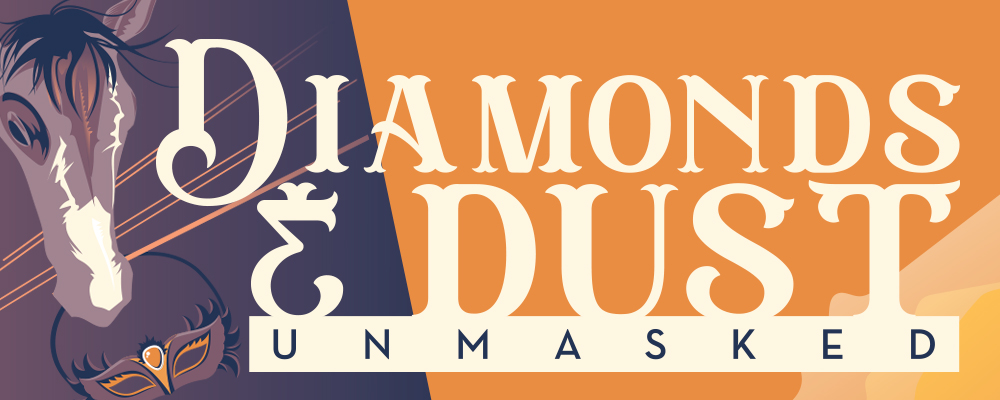 Diamonds and Dust Event Logo for Healing Reins